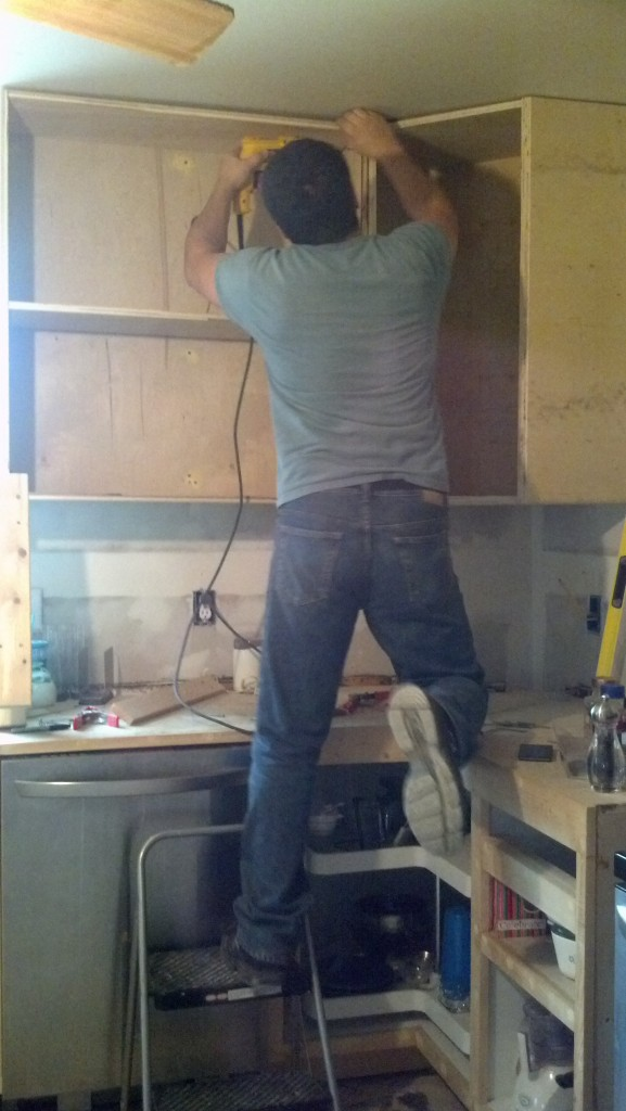 My hot handyman hubby :D