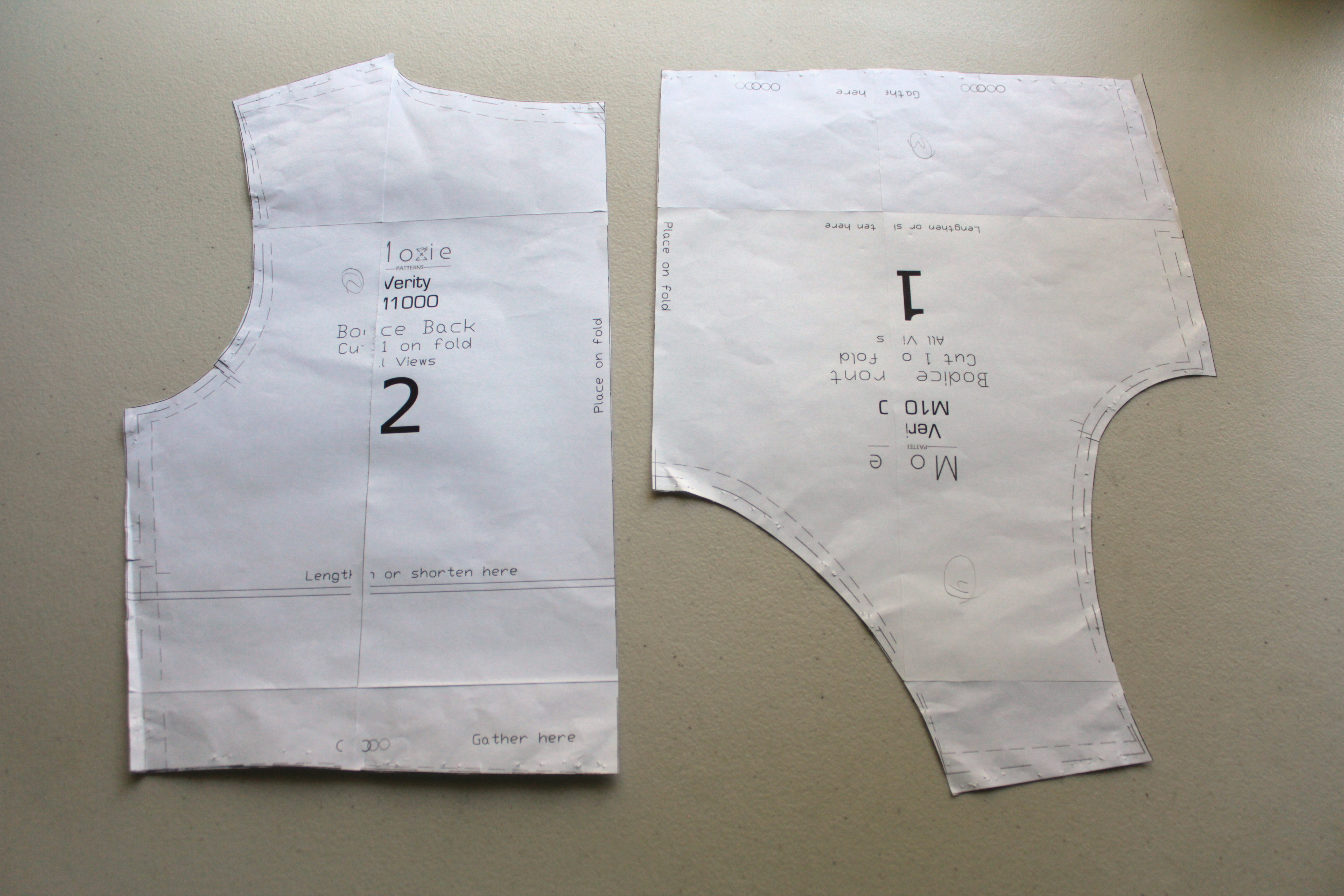 Assemble PDF Patterns with Contact Paper | Creative Notions