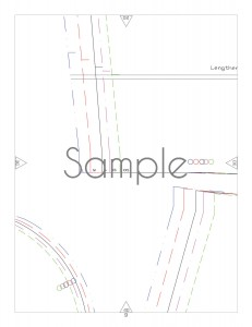 Sample pattern page